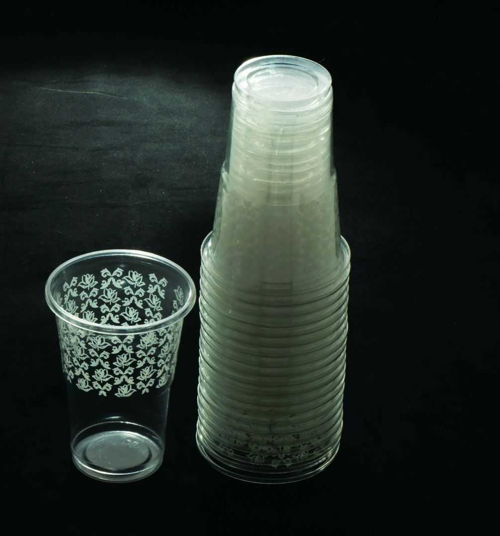 כוס מעוטר - לבן