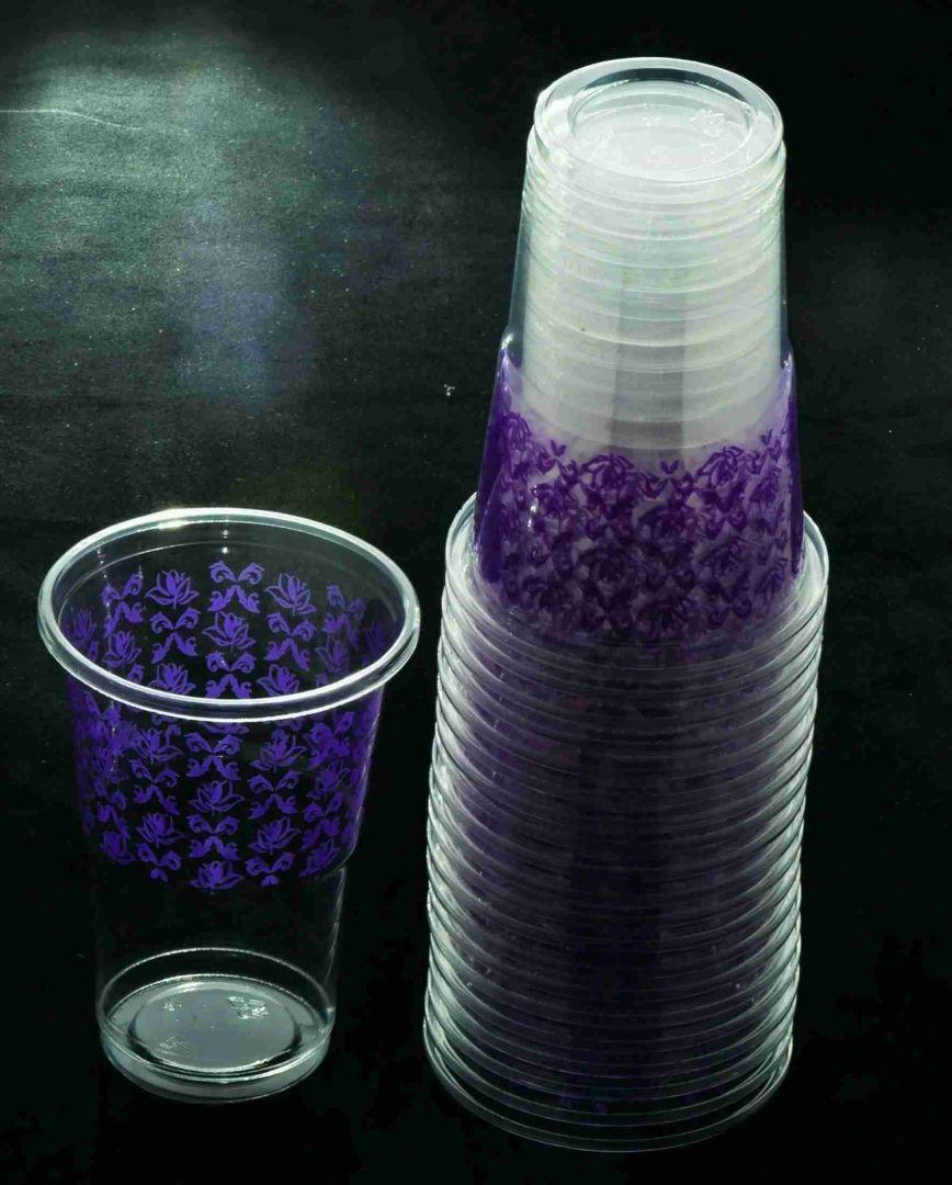 כוס מעוטר - סגול