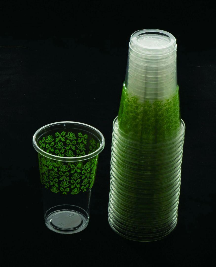 כוס מעוטר - ירוק